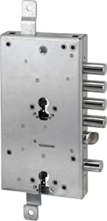 Multi-Function Lever Lock for Cylinder Armored Doors