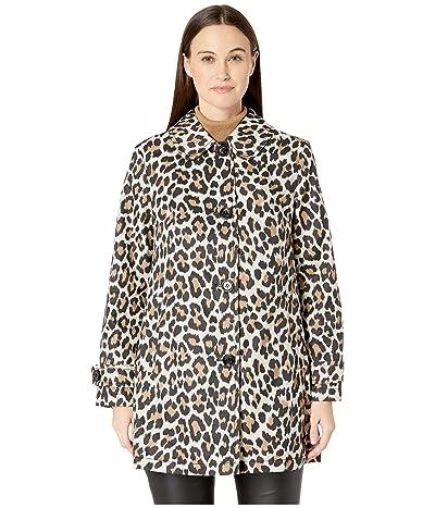 Kate Spade New York Printed Transitional 33 Jacket (Caramel Leopard) Women
