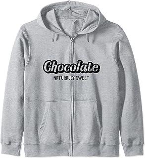 Chocolate Naturally Sweet Fière Femme Noire Saint-Valentin Sweat à Capuche