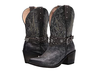Corral Boots Q0156 (Black) Women