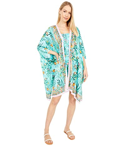 Johnny Was Taina Short Kimono (Multi) Women