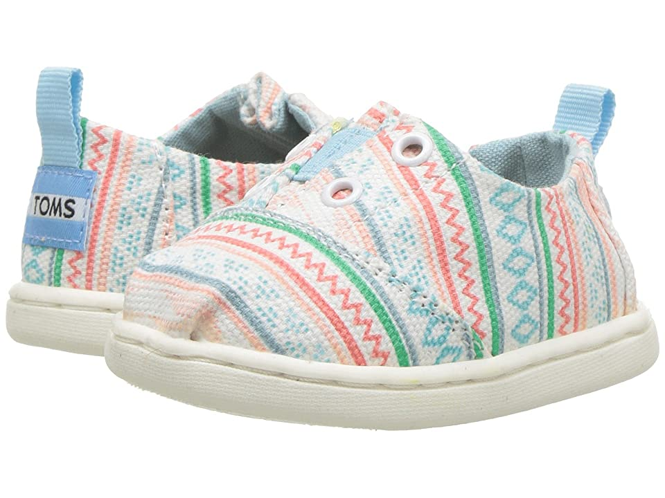 TOMS Kids Lumin (Infant/Toddler/Little Kid) (Multi Ethnic Tribal) Girl