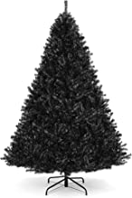 Best Choice Products 6ft Artificial Full Christmas Tree Seasonal Holiday Decoration w/ 1,477 Branch Tips, Foldable Stand - Black
