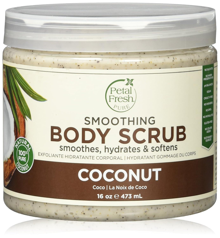 Petal Fresh Award-winning Popular overseas store Coconut Oil Scrub Body 16 Ounce