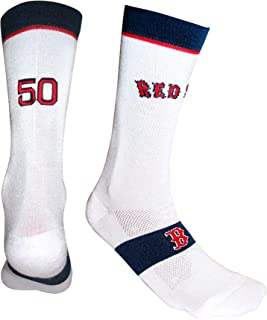 MLB Mens Socks   Major League Baseball Favorite Team Player Jersey Athletic Crew Sock