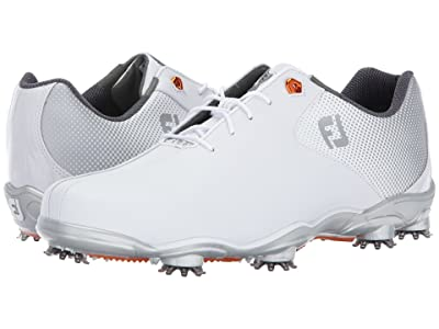 FootJoy DNA Helix (White/Silver Bicycle Toe) Men