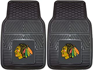 Fanmats Chicago Blackhawks 2 Piece Heavy Duty Vinyl Car Mats