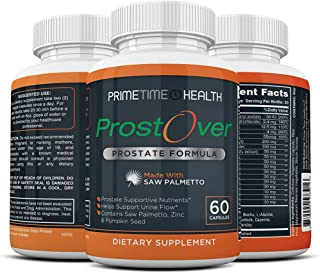ProstOver - Saw Palmetto Prostate Supplement for Men, 30 Herbs, Vitamin, Minerals, to Help Prostate Health, Maintain Norma...
