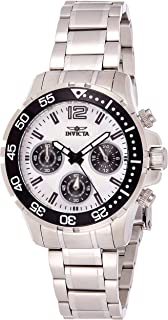 Invicta Women's 25746 Pro Diver Quartz Chronograph Silver Dial Watch