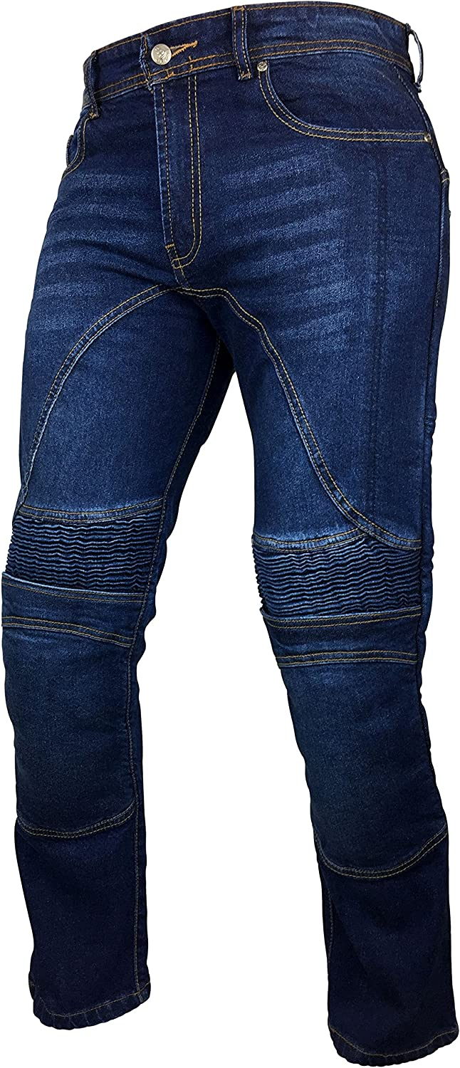 Fashio Men's Motorcycle Motorbike Jeans Trouser A Reinforce Outlet ☆ Free Shipping with Bombing new work