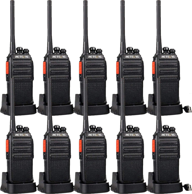 Retevis H-777S Long 5 popular Range Walkie Talkies Spasm price for 2 Way Adults Radios