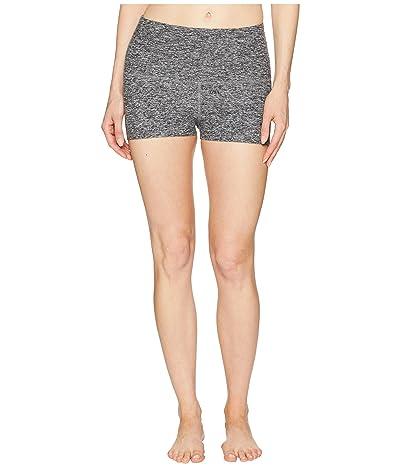 Beyond Yoga Spacedye Circuit High-Waisted Shorts (Black/White) Women