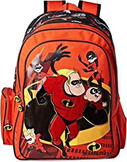The Incredibles School Backpack for Boys, Red