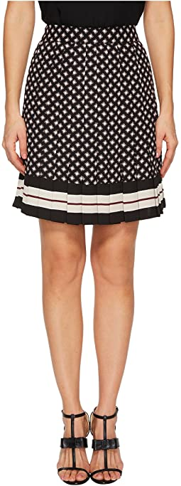 Kate Spade New York - Diamond Pleated Skirt