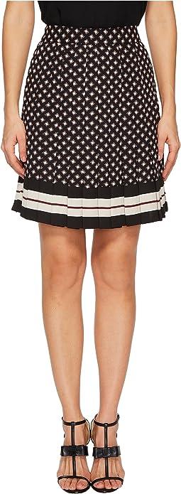 Kate Spade New York - Diamond Pleated Skirt