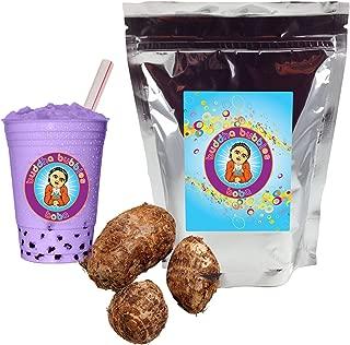Taro Boba / Bubble Tea Powder By Buddha Bubbles Boba 1 Pound (16 Ounces) | (453 Grams)