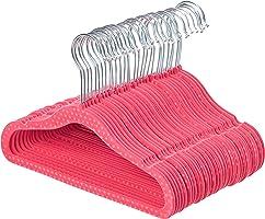 AmazonBasics Kids Velvet Hangers - 30 Pack