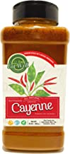 Ground Cayenne Pepper Powder | 35.000 Heat Units | 16oz / 1 Pound - 453 g - Bulk Spice with Shaker Top | Red Pepper Ground...