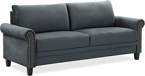 LifeStyle Solutions Arlington Sofa Charcoal Grey