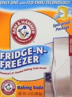 Arm & Hammer baking Soda, Fridge-N-Freezer Pack, Odor absorber, 14 oz, Pack Of 6