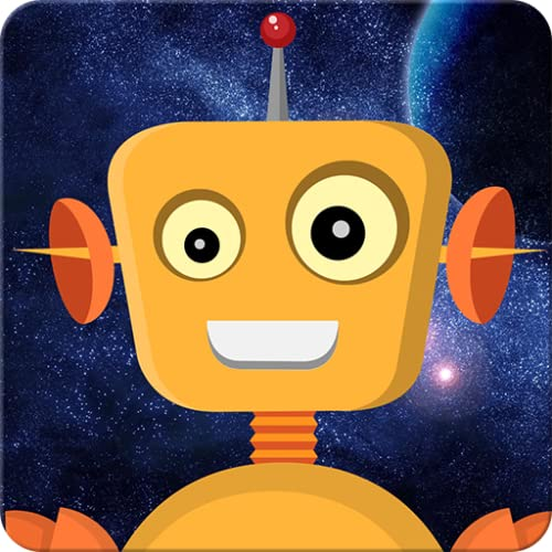 Robot game for preschool kids