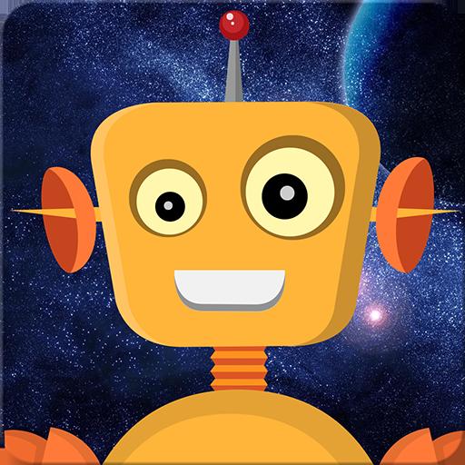 Robot juego para niño pequeña