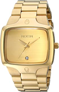 Nixon The Player Men's Watch - Gold/Gold
