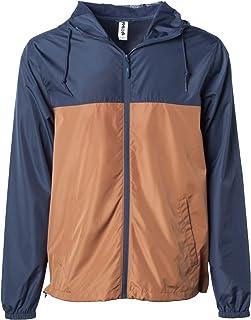 c6c7cf17a Global Men's Hooded Lightweight Windbreaker Winter Jacket Water Resistant  Shell