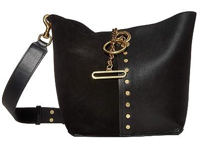 See by Chloe Gaia Tote (Black) Handbags