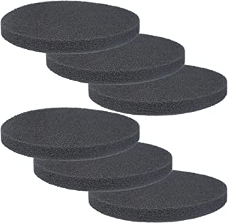 Fx4 Carbon Filter Pads for Fluval FX4 / FX5 / FX6 Canister Filter,Replacement Carbon Impregnated Foam Pads Pack of 6