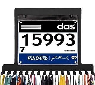 Sponsored Ad - iBobbish bib Medal Holder Display Hanger Rack Frame Shelf,Metal Race Medal Hanger Run,Gymnastics Medal Hold...