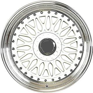 """IPW W883 20x9.5 5x112/114.3 35mm White/Machined Wheel Rim 20"""" Inch"""