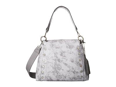 Hammitt Bryant Large (Mist Tejus/Mist Pebbled/Brushed Silver) Handbags
