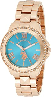 U.S. Polo Assn. USC40079 Women's Quartz Watch, Analog Display and Stainless Steel Strap