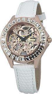 Burgmeister 伯格麦斯特 德国品牌 机械手表 女士腕表 镂空镶钻 BM520-306