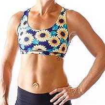 sunflower sports bra