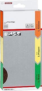 Bosch Professional 3tlg. Schleifschwamm S471 Best for Flat and Edge Set Mittel Orange / Fein Gelb / Superfein Grün, Zubehör Handschleifen