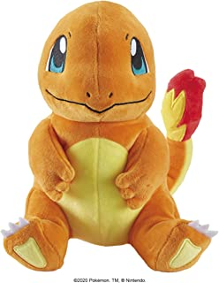Pokémon Plush Charmander 8 Inches, Cuddle Toy, Perfect for Playing & Displaying