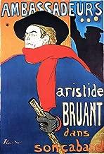 Henri de Toulouse-Lautrec - Ambassadeurs: Aristide Bruant Dans Son Cabaret Lithograph Private Collection 30