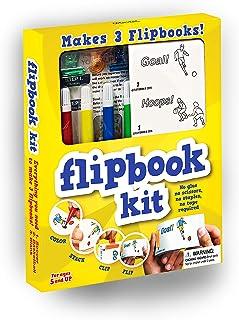 Fliptomania Flipbook Animation Kit - Basketball and Soccer