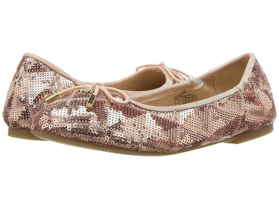 Sam Edelman Kids Felicia Sequins (Little Kid/Big Kid) (Rose Gold) Girls Shoes