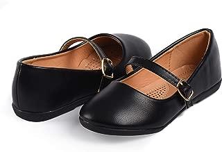 Nova Utopia Toddler Little Girls Dress Ballet Mary Jane Bow Flat Shoes