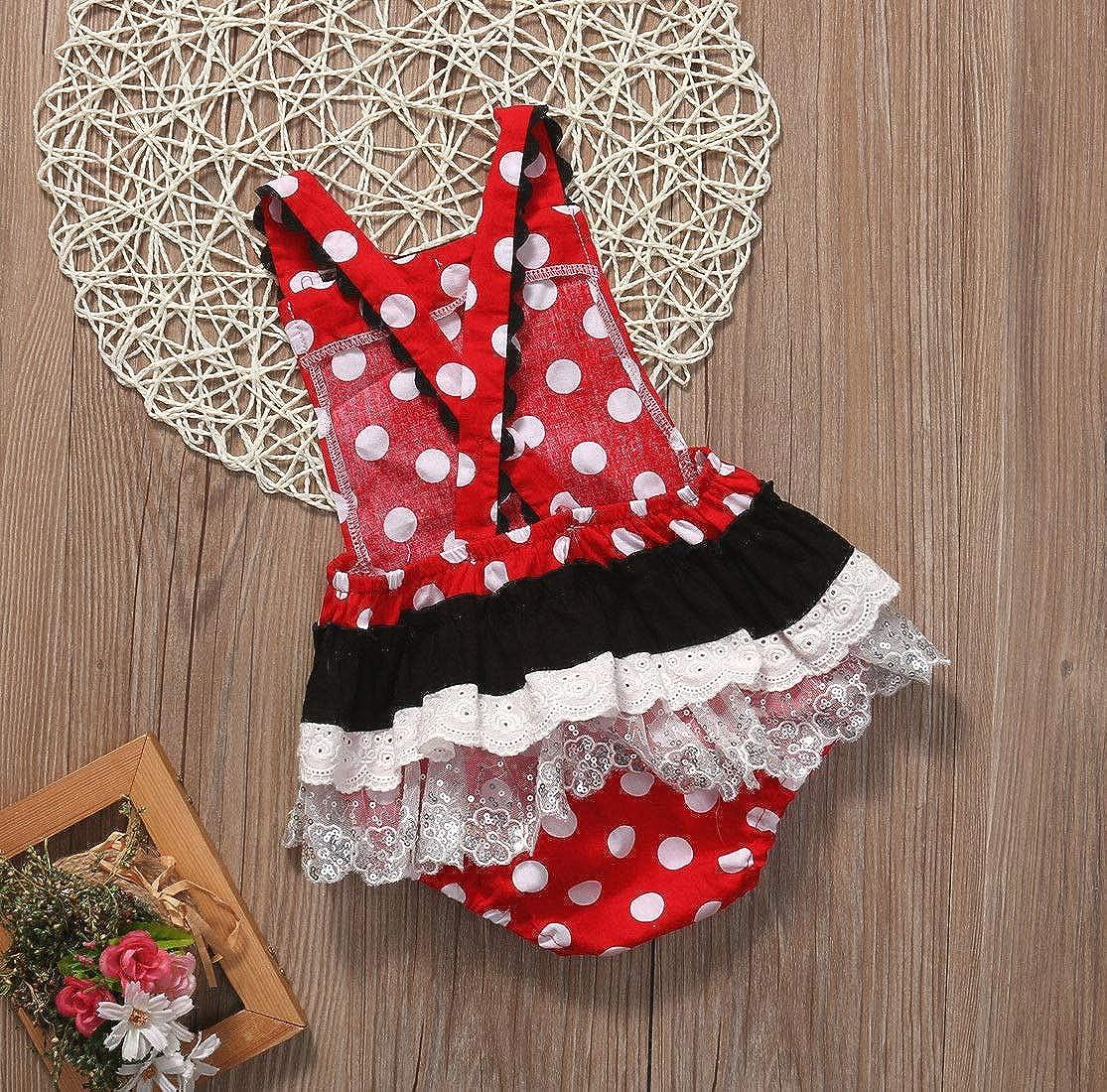 Cartoon Big Bow Minnie Mouse Shoulder Bag Casual Polka Dot Playwear Outfits Baby Toddler Girls Ruffles Disney Dress