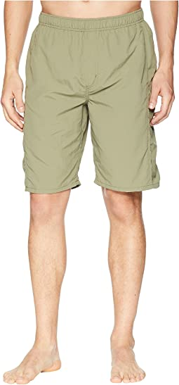 White Sierra Gold Beach Water Shorts 10""