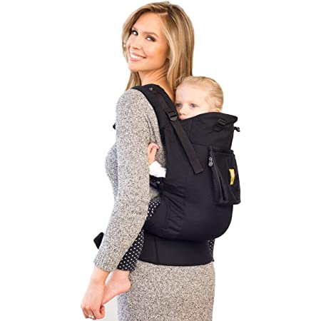 LÍLLÉbaby CarryOn Airflow 3-in-1 Ergonomic Toddler and Child Carrier, Black - 20 to 60 lbs