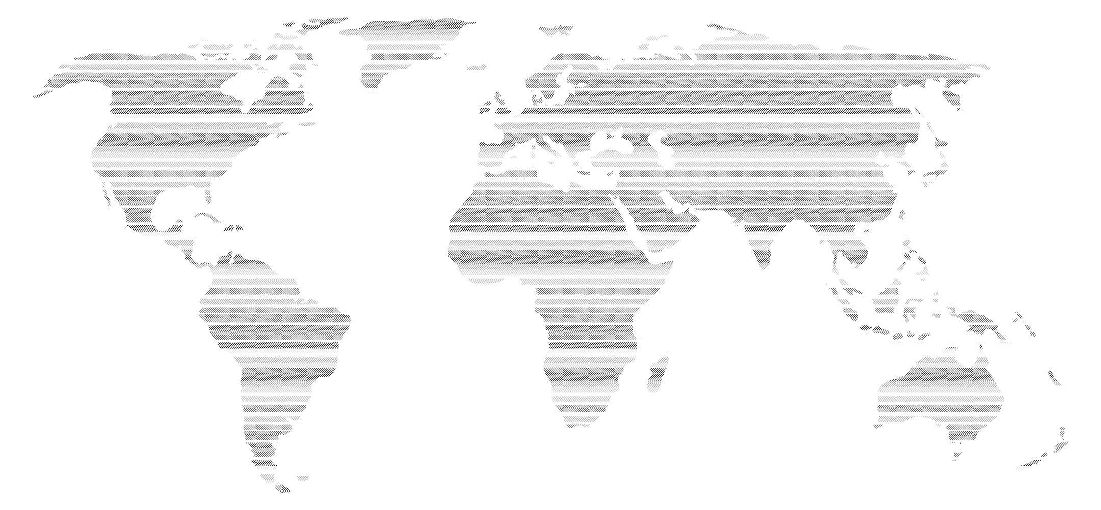 Pegatina de pared Salón Mapa del mundo con patrón integrado de rayas y líneas luminosas Continentes para encolado tierras molido globo terráqueo naipe bordadoras es: Amazon.es: Bricolaje y herramientas
