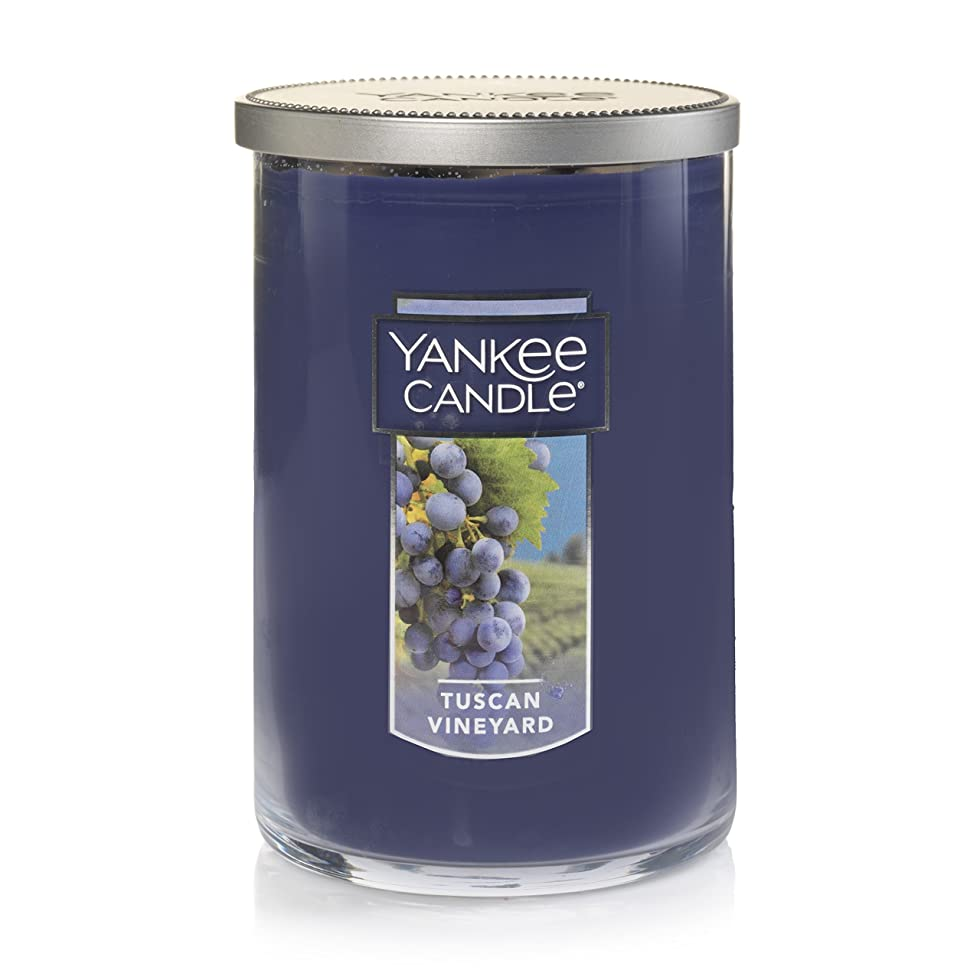 証明するどういたしまして寛大さYankee Candle Tuscan Vineyard Large 2-Wick Tumbler Candle パープル 1521694z