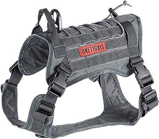 OneTigris Tactical Dog Harness - Fire Watcher Comfortable Patrol K9 Vest