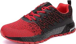 SOLLOMENSI Laufschuhe Herren Damen Sportschuhe Straßenlaufschuhe Sneaker Joggingschuhe Turnschuhe Walkingschuhe Traillauf ...