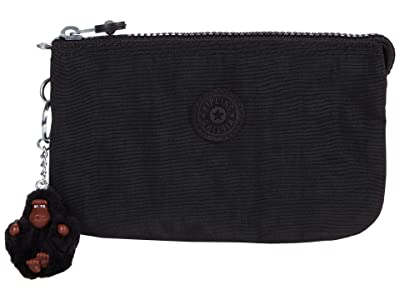 Kipling Creativity Large Pouch (Black Tonal) Wallet